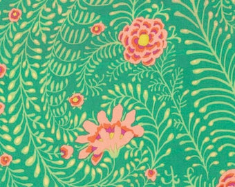 Spring 2017 by Philip Jacobs for Free Spirit - Ferns - Green - FQ - Fat Quarter Cotton Quilt Fabric  417