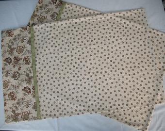 Pillowcases set.  Standard size//Handmade