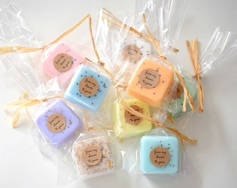 15 favors- mini soap shower favors