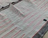 Hemp, Hmong Handwoven Vintage hemp fabric,  textiles and fabrics- Table runner,