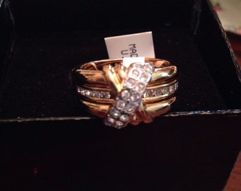 Joan Rivers classics collection CZ ring- 7