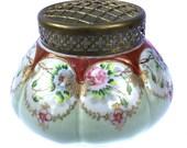 Edwardian H&S L Oriental Pattern Vintage Flower Vase Vintage Vase Vintage Housewares Vintage Home Decor