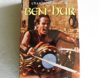 Ben - Hur Vhs Video Tapes 2 Tape Boxed  New Factory Sealed Charleston Heston