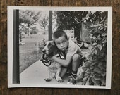 Original Vintage Photograph Dogs Are For Dreary Days