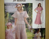 The Victoria Magazine Collection for Butterick Sewing Pattern 6783 Misses Dress Size 14-18