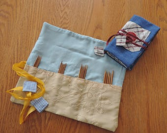 dpn knitting needle case - dpn organizer