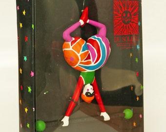 Rare Cirque du Soleil Hanging Ornament by Department 56