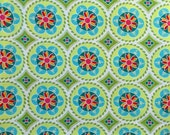 """Clearance*** Riley Blake Madhuri Quilted fish 100% cotton fabric 43/42"""" wide"""