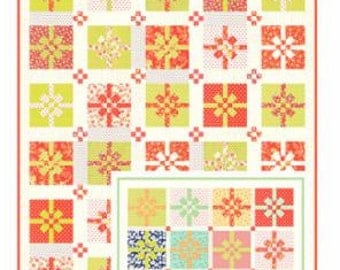 All Wrapped Up Quilt Kit in Coney Island  by Fig Tree