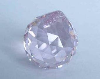 1 SWAROVSKI 8558 Strass Crystal Ball Prism 20mm ROSALINE