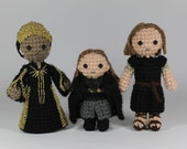Seraphina, Lyanna and the Waif