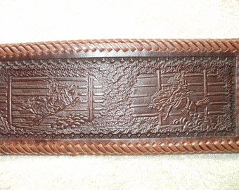 bullrider wallet / billfold, Western wallet. (156) saddle bronc wallet ( I ship the same day as you order )