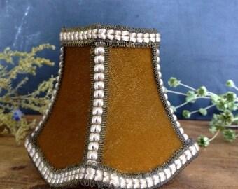 ON SALE Vintage Boudoir Lampshade
