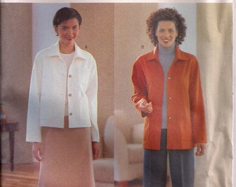 Butterick Sewing Pattern 6339 - Misses'/Misses' Petite Jacket, Skirt, and Pants (20-24)