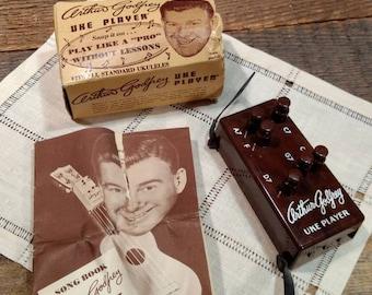 1950 Vintage Arthur Godfrey Uke Player with Songbook in Original Packaging / Learn Ukulele / Ephemera / Collectible / Rare