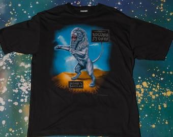 Rolling Stones Bridges To Babylon Tour T-Shirt Size XL
