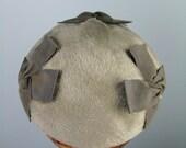 Gray Hat / Vtg 40s / John...