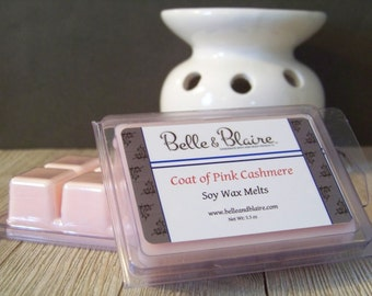 Coat of Pink Cashmere- Soy Tarts- Scented Wax Melts