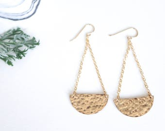 The 'crescent moon' earrings