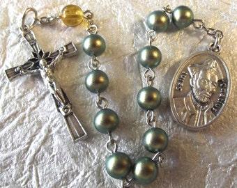 Saint Ignatius Rosary Tenner