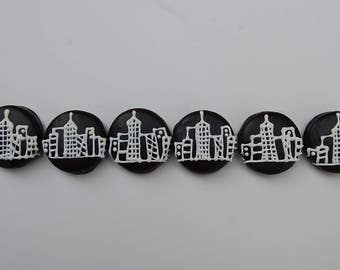 NYC SKYLINE OREO Party Favor for Theater Party gift for Nyc times square trip business person gift chocolate covered cookie by PlainOldeJane