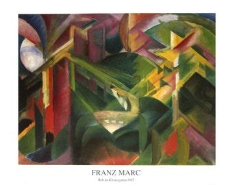 Franz Marc-Forest-1995 Poster