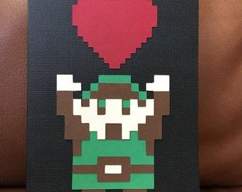 Zelda Valentine - You've Got My Heart - Legend of Zelda Link You Got the Item Parody