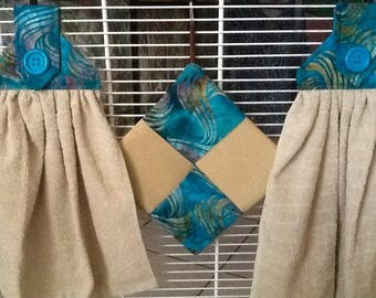 Hanging Dish Towel/ Hot Pad