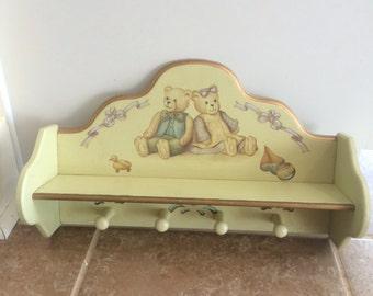kinderzimmer regal etsy. Black Bedroom Furniture Sets. Home Design Ideas