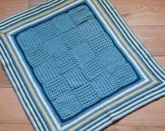 The Seaside Blanket - Instant Download PDF Crochet Pattern