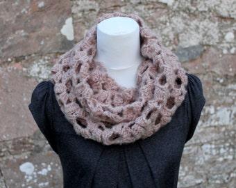 CROCHET PATTERN - crochet lace loop scarf - Listing129