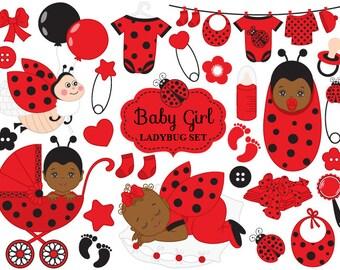 Ladybird clipart | Etsy