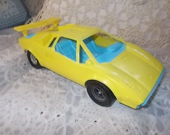 Tootsie Lamborghini   Toy Car, Vintage Toy Cars, Tootsie Toy Cars,