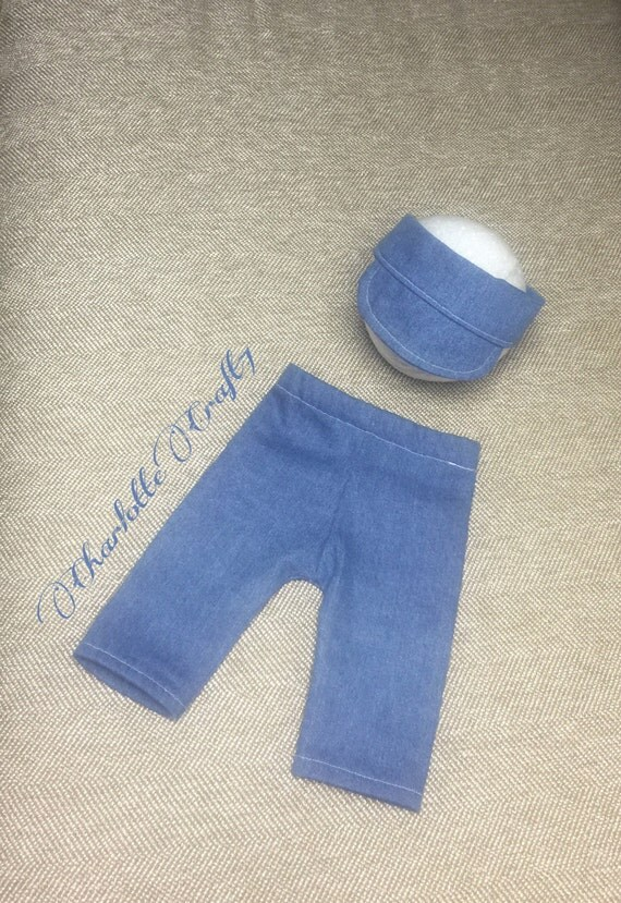 Newborn Hat and Pants Photography Prop