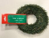 25 feet of pine garland (BR)