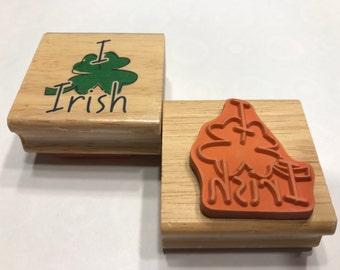 Irish rubber stamp (BB4/3)