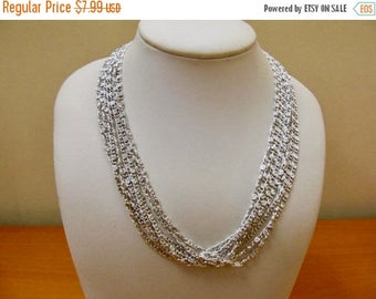 On Sale SARAH COVENTRY Multi Chain Fancy Link Necklace Item K # 1156