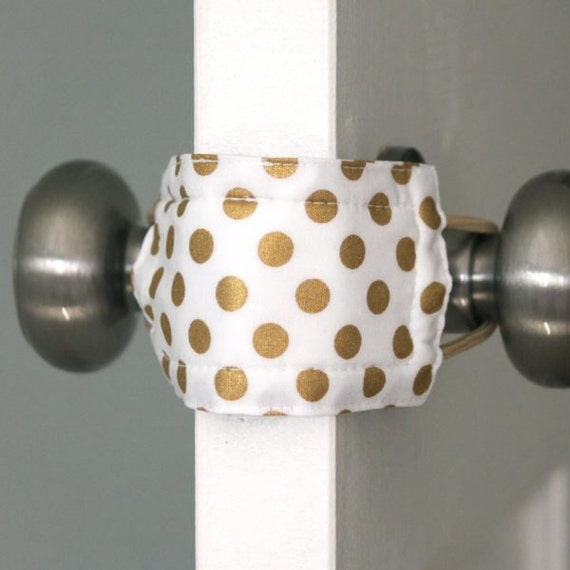 Goldie Dot Door Silencer Door Jammer Nursery Door Silencer