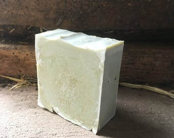 Homemade Handmade Handcrafted Soap // Creamy Fennel & Olive Oil // Cold Process, Artisan Soap Bar, From The Farm, All Natural, Castile Soap