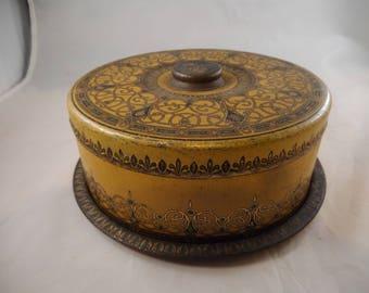 Art Deco Cake Metal Cake Tin