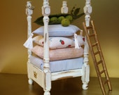 Princess and the pea bed by JaynesLoveDoves