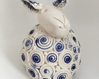 Pedro the ceramic sheep