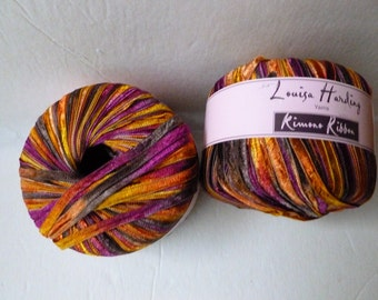 Yarn Sale  - Tropical 1 Kimono Ribbon by Louisa Harding