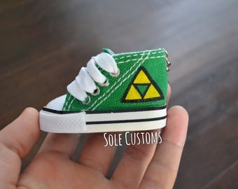 Custom Keychain - Mini Legend Of Zelda Shoe Keychain