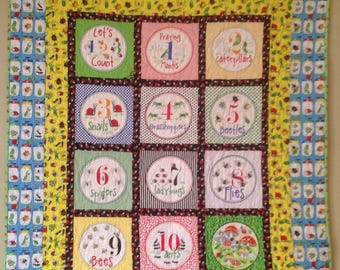 Garden Critters Quilt Kit - no backing