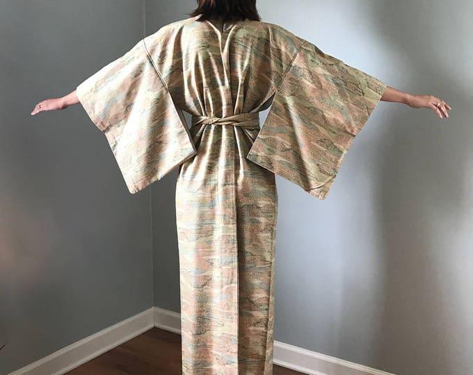 Authentic Kimono Vintage Spacedye Pattern