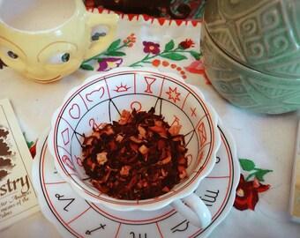 The Get Well Stay Well Warming Crimson Berry Herbal Tea Blend  Elderberry