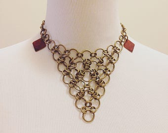 Wicked Chainmaille Collar Necklace