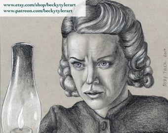 Nicole Kidman, The Others, Original Drawing