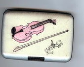 Violin WIth Bow Wallet